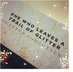 glitter girl meme