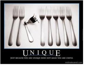 unique fork meme