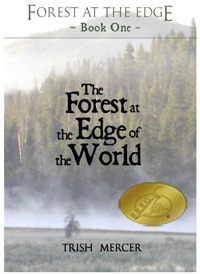FOREST AT THE EDGE OF THE WORLD BRAG medallion cover