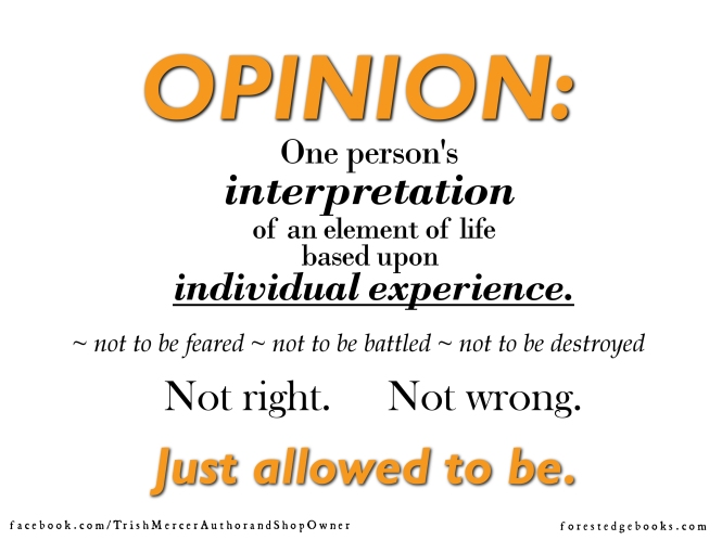 opinion definition