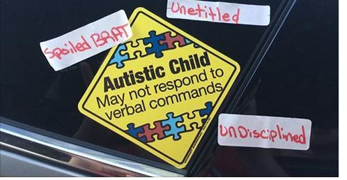 autism stickers car