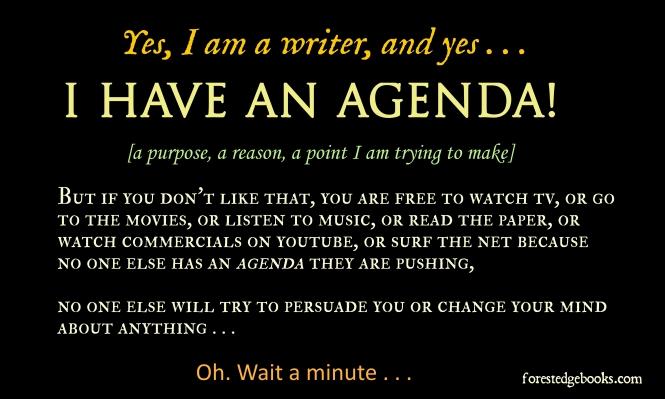 writer agenda