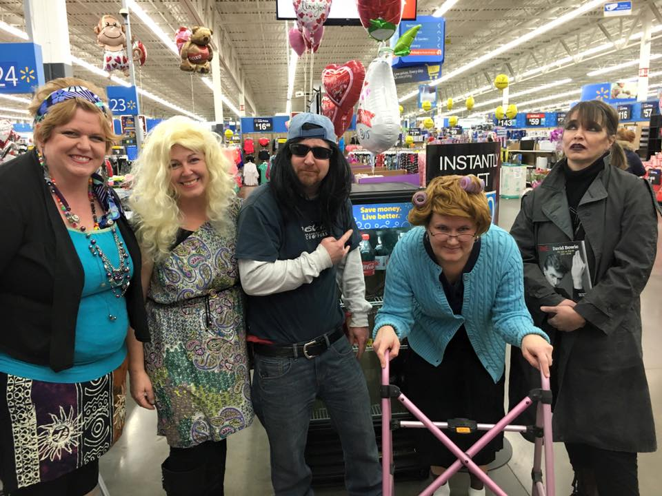 Waldos in Walmart Feb 2016