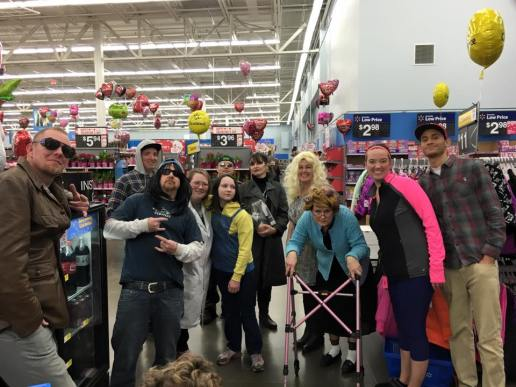Waldows in Walmart Feb, 2016