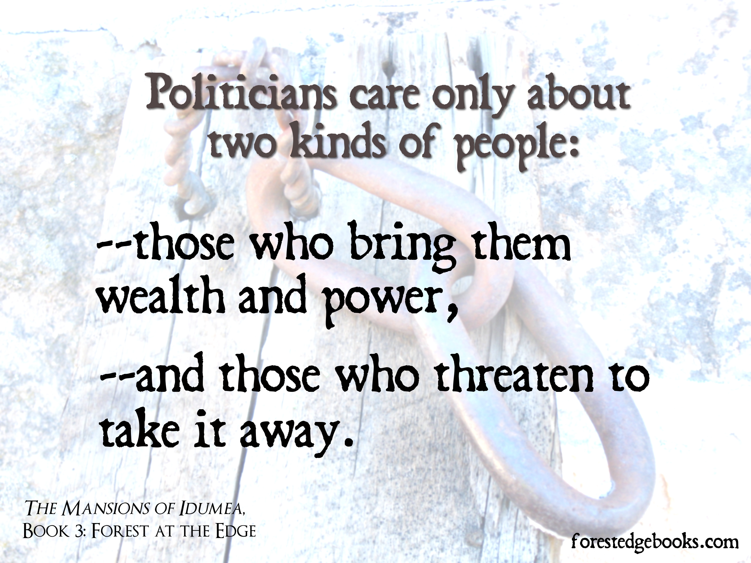 politicians and power