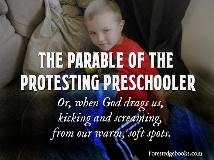 protesting preschoolers