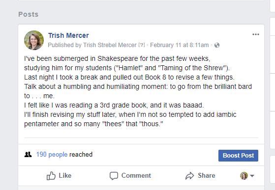 not shakespeare