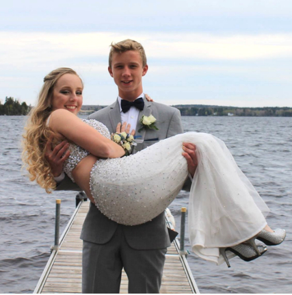 PRom pictures madelyn and andersen